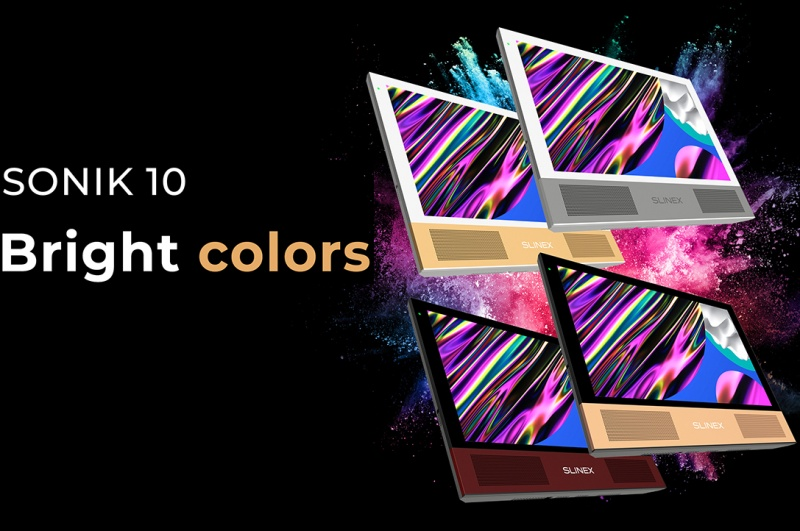 Sonik 10 colors: show your personality and sense of style