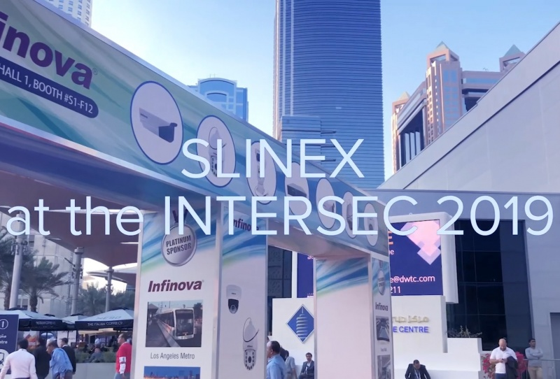 Slinex at the Intersec 2019 – conquering the Middle East marketplace!