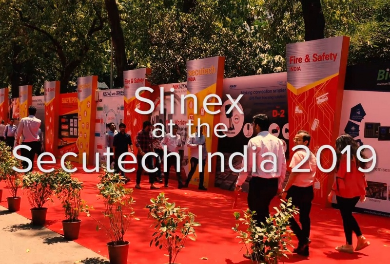 Slinex at the Secutech India 2019
