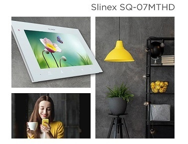 New! Slinex SQ-07MT HD with 2MP AHD support