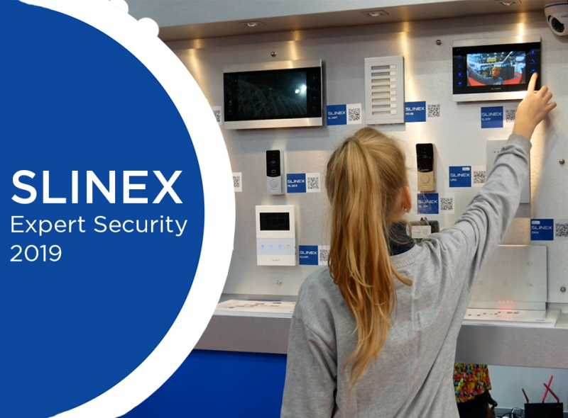 Slinex attends 2019 Expert Security Exhibition