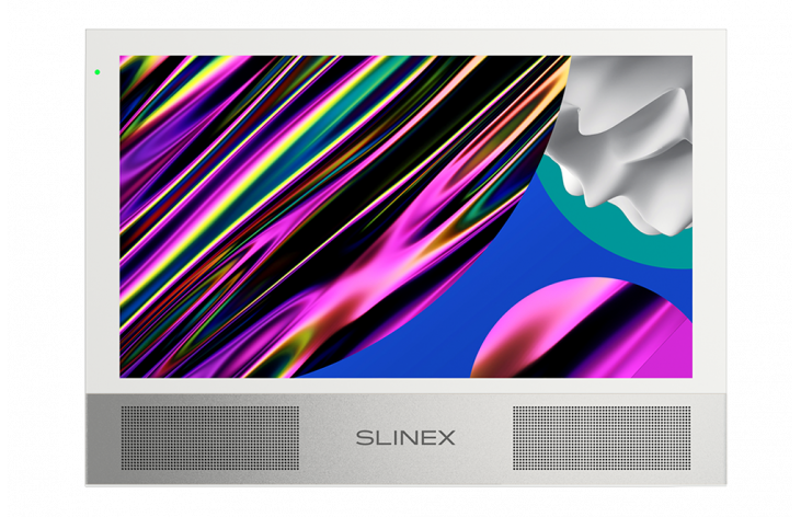 Slinex Sonik 10 – video intercom with two powerful speakers, replaceable color panels and big screen